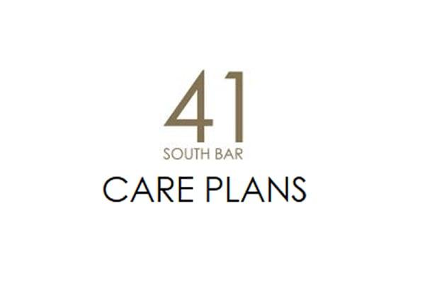 41 South Bar - Care Plans